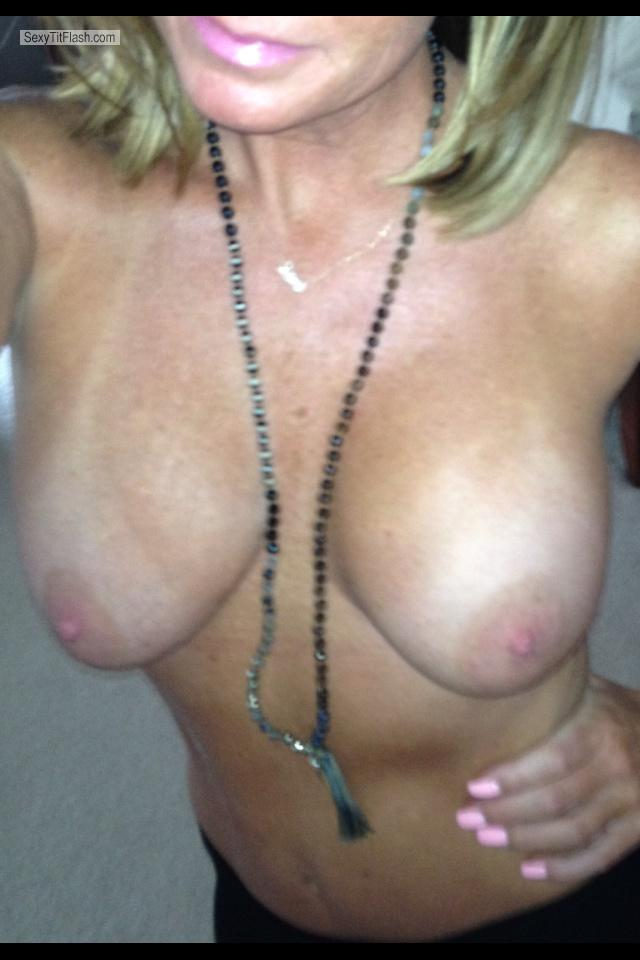Tit Flash: My Big Tits By IPhone (Selfie) - Miss Understood from United States